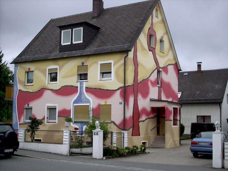 Отделка фасадов частных домов пенопластом